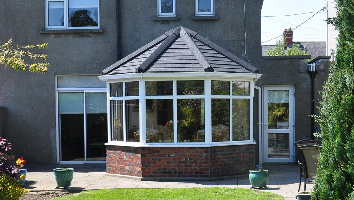 Victorian conservatory tiled roof