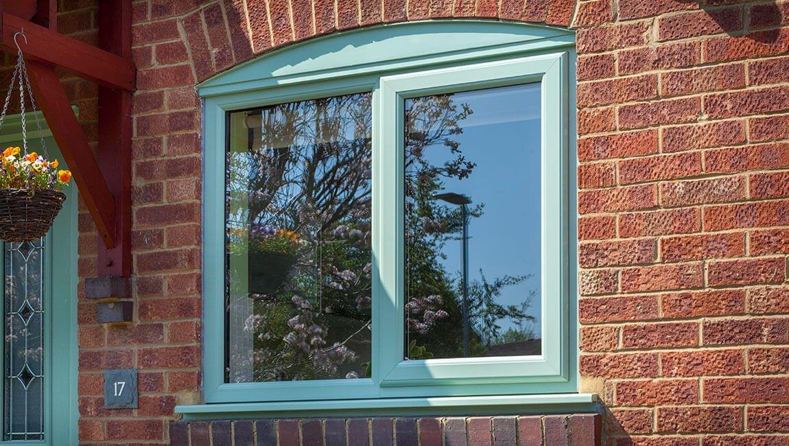 uPVC chartwell green casement window