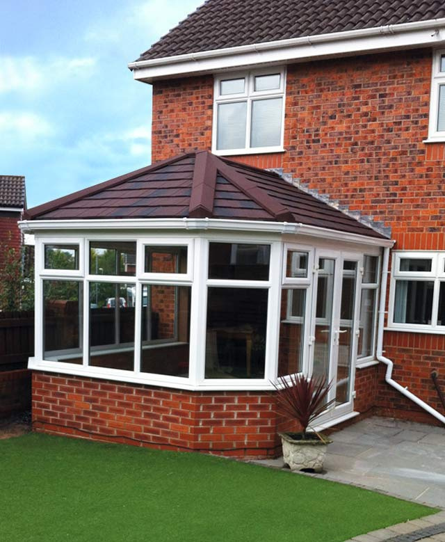 Guardian Warm Roof Tiled Conservatory Roof