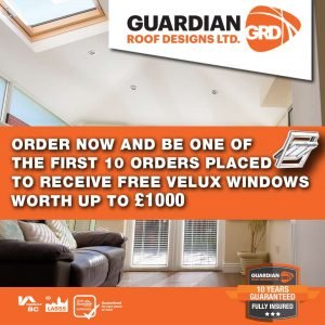 be one of the first 10 to receive Velux windows up to £1000