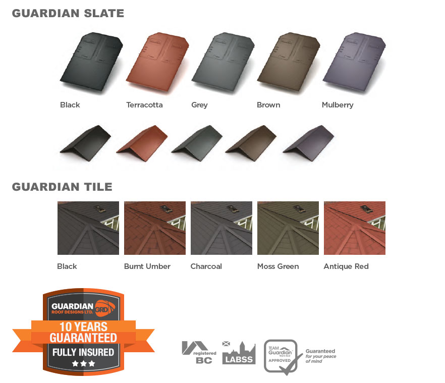 Guardian Roof Designs Slate and Tile